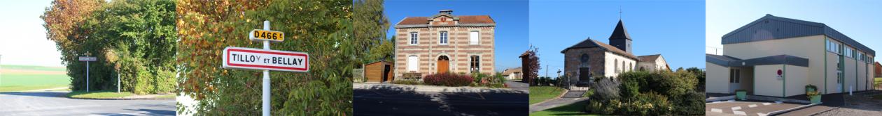 Site internet de la commune de Tilloy-et-Bellay